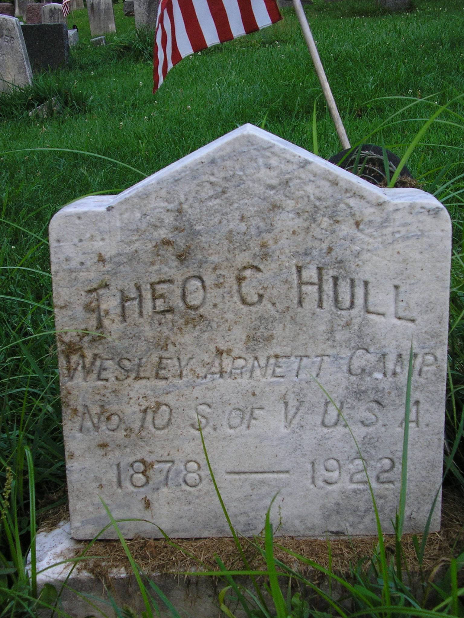 Hull Tombstone